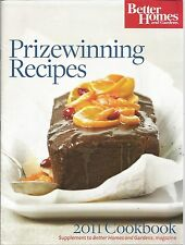 Better Homes and Gardens Prizewinning 2011 Cookbook PB Supplment to BH&G