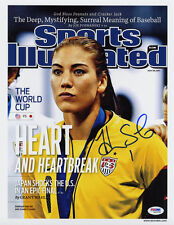 Hope Solo SIGNED Sports Illustrated Print Team USA ITP PSA/DNA AUTOGRAPHED