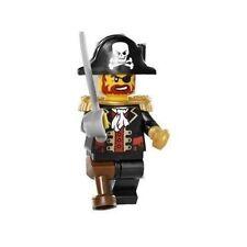 LEGO Pirate Captain Brickbeard Redbeard minifigure NEW