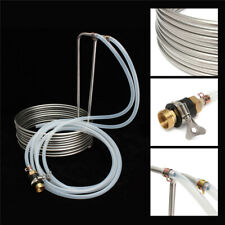 Immersion Wort Chiller elevated Coils Brew Beer With Silicone Tubing - Home Brew