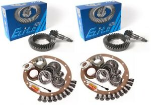 """1979-1985 Toyota Pickup 8"""" 4cyl 5.71 Ring and Pinion Complete Elite Gear Pkg"""