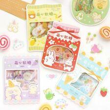 45pc Stationery Sticker Pvc Kawaii Cute Sticker Korean Stationery Aesthetic Pape