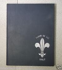1967 Fleur de Lis Kentucky Country Day School Louisville Annal Yearbook KY