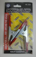 """Brand New 2 Pc. 4"""" Rubber Grip Metal Spring Clamp Set , Free Shipping !"""
