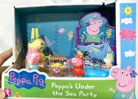 Peppa Pig Under The Sea Party With Miss Rabbit, George Pig And Peppa Pig