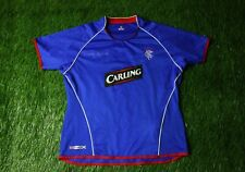 RANGERS SCOTLAND 2005/2006 WOMENS FOOTBALL SHIRT JERSEY HOME UMBRO ORIGINAL