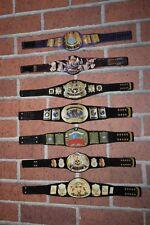 WWE WWF 7 Custom belts for Hasbro and Retro Mattel Action Figures Attitude Era