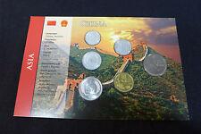 Kursmünzensatz der Volksrepublik China, Müzsatz, Münzen Yuan, Jiao,Fen Sammeler
