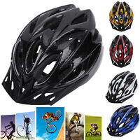 Unisex Adult Bicycle Bike Safety Helmet Adjustable Protective Cycling Shockproof