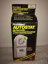 First Alert AUTOSTAT Auto Thermostat Control For Existing Thermostat #AS550 NIB