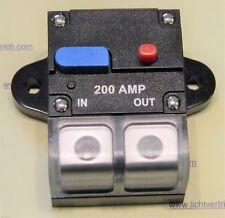200 A Sicherung Automat Automatik Schalter Auto Audio Solar KFZ 12V / 24V DHLDE