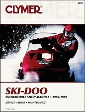 Clymer S829 Service & Repair Manual for 1985-89 Ski-Doo Snowmobiles