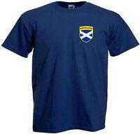 Scotland Scottish Kids Boys Girls Child Youth Football Team T-Shirt - All Sizes