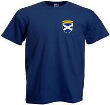 Magliette e maglie blu con girocollo per bambine dai 2 ai 16 anni 100% Cotone