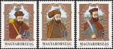 Hungary 1992 Princes of Transylvania/Royalty/People/History/Heritage 3v (n45662)