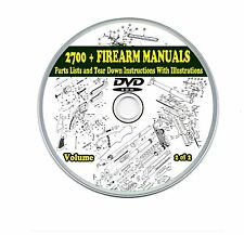2700+ Firearms Manuals Shotgun Rifle Pistol 2 DVD's Gun-Show Collection Volume 2