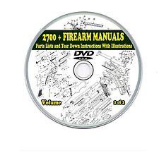 2700+ Firearms Manuals Shotgun Rifle Pistol 2 DVD's Gun-Show Collection Volume 2