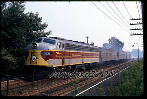 ORIG. SLIDE ERIE LACKAWANNA (EL) 829 ACTION