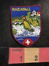 RHEINFALL Rhine Falls Waterfall Switzerland Patch 93U7