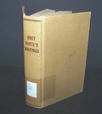 Bret Harte's Writings Poems 1904 Special Edition Vintage Book Review of Reviews