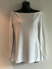 WITCHERY WHITE OFF THE SHOULDER TOP / TUNIC SIZE S BNWT