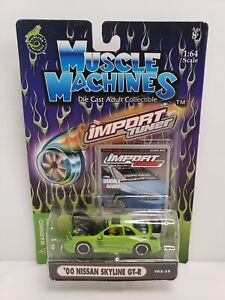 Muscle Machines Import Tuner '00 Nissan Skyline GT-R Green