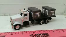 1/64 CUSTOM ertl farm toy peterbilt fs straight truck w/ 4 probox hisoy invision