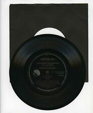 45 RPM SP FLEXI UK PROMO KATE BUSH NEVER FOR EVER