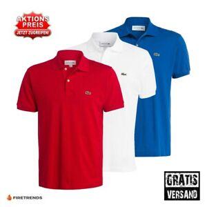 Lacoste Polo Shirt Herren Freizeit T-Shirt Polohemd   S-XXXL NEU