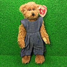 Ty Attic Treasures Wee Willie The Bear Rare Retired 1992 Jointed Plush Toy MWMT