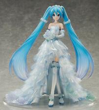 FREEing! 1/7 Vocaloid Hatsune Miku Wedding Dress Ver. Scale Statue Figure USA