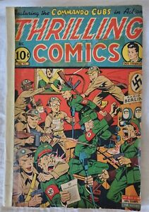 Thrilling Comics No. 45 from 1944  Radio Berlin cover