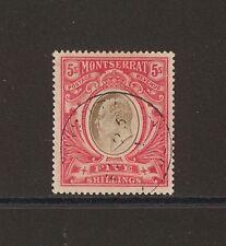 MONTSERRAT 1904-08 SG 33 FINE USED Cat £190