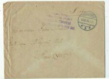 1915 Harderwijk Netherlands WWI Military Censored to Paris France