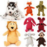 Funny Soft Pet Puppy Chew Play Squeaker Squeaky Cute Plush Sound For Dogs Toy K