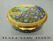 """Halcyon Days """"The Year To Remember"""" 2000 Floral Box  - >2""""(5.25cms)"""