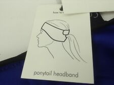 Women's Calvin Klein Blue PonyTail HeadBand - $28 MSRP - 25% off