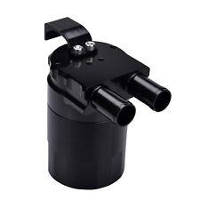 Billet Aluminum Oil Catch Can Tank Bottle Baffled for BMW N54 335i 535i Black