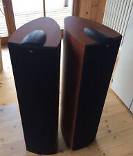 Standlautsprecher Paar von KEF - IQ7, Farbe Apfel dunkel