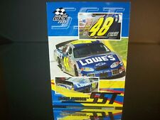 Jimmie Johnson #48 Lowe's Press Pass Stealth 2003 Card #63 SST