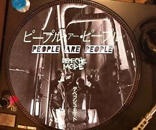 """Depeche Mode - People Are  People Rare 12"""" Picture Disc Single Japan Promo LP NM"""