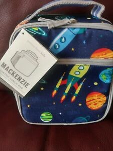 POTTERY BARN Kids Solar System CLASSIC LUNCH BAG BOX NWT No Mono NEW