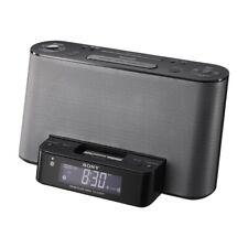 Sony ICFCS15IPN Lightning iPhone/iPod Clock Radio Speaker Dock (Black)