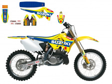 New Suzuki RM 125 250 01-18 World MX GP Graphics Sticker Kit Blackbird 8318R6