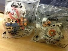 A Set of 2 Unopened McDonald's Super Mario Happy Meal Toys