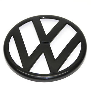 ORIGINAL VW Zeichen Emblem Logo schwarz Kühlergrill Golf 4 IV 1J0853601A 041