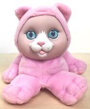 "1993 Hasbro Pet Surprise Kitty Cat Plush Pink No Sound Or Scarf 5"""