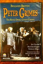 Benjamin Britten - Peter Grimes, Colin Davis  - DVD, As New