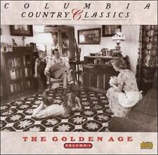 Columbia Country Classics, Vol. 1: The Golden Age by Various Artists (CD)