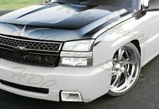 For Chevy Silverado 1500 SS-Style Painted White Air Duct Front Bumper Caliper 2p